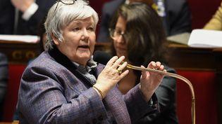 Jacqueline Gourault, le 14 février 2018 à l'Assemblée nationale. (BERTRAND GUAY / AFP)