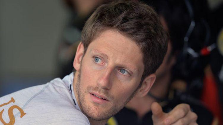 Le pilote Lotus, Romain Grosjean