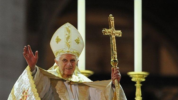 Le pape Benoit XVI au Vatican (ici en juin 2010). (AFP - Alberto Pizzoli)