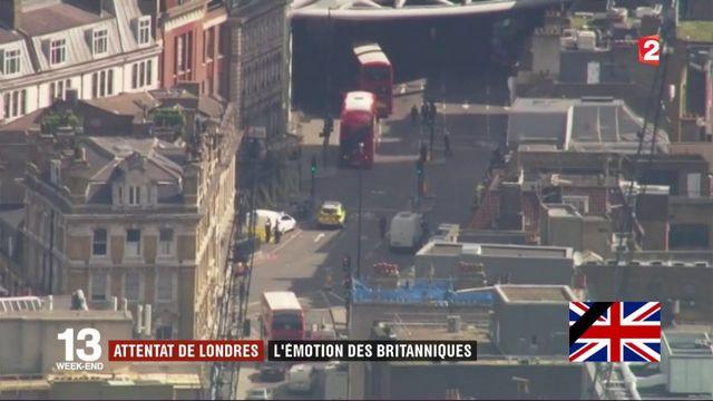 Attentat de Londres : l'émotion des Britanniques