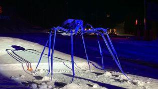 Orlanski expose son araignée géante à Courchevel  (Couchevel Office )