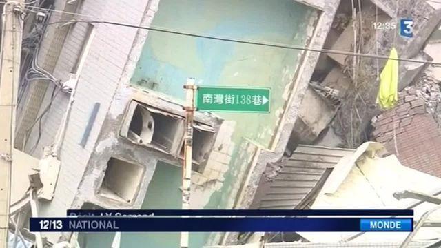 Taïwan : au moins sept morts dans un séisme