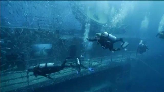 Exposition sous-marine en Floride