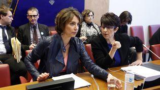 La ministre de la Santé, Marisol Touraine, lors de son audition par la commission des affaires sociales de l'Assemblée nationale, mardi 17 mars 2015, à Paris. (FRANCOIS GUILLOT / AFP)