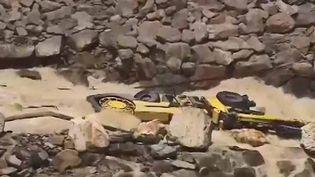 Un barrage menace de céder en Colombie (FRANCEINFO)