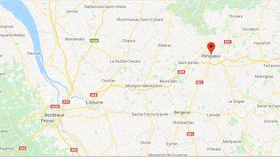 Périgueux (Dordogne). (CAPTURE ECRAN GOOGLE MAPS)