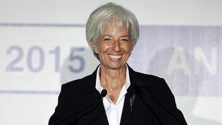 La directrice générale du Fonds monétaire international,Christine Lagarde, le 6 septembre 2015 à Ankara (Turquie). (AYKUT UNLUPINAR / ANADOLU AGENCY / AFP)
