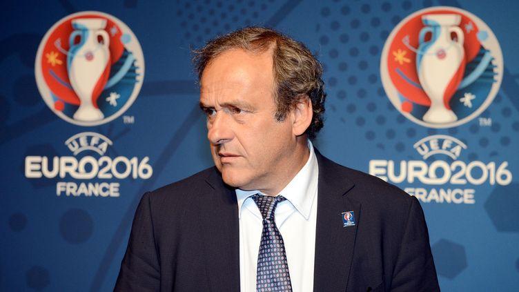 Michel Platini  (FRANCK FIFE / AFP)