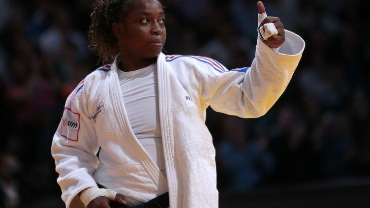 Gévrise Emane a désormais les yeux tournés vers Rio. (JACQUES DEMARTHON / AFP)