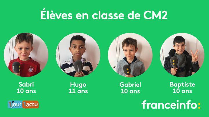 franceinfo junior, une émission en partenariat avec le magazine d'actualités pour enfants,1jour1actu et 1jour1actu.com (FRANCEINFO / RADIOFRANCE)