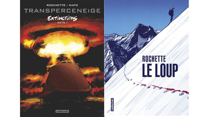 ROCHETTE AIME LES PAYSAGES GELES (JEAN-MARC ROCHETTE, CASTERMAN / JEAN-MARC ROCHETTE, CASTERMAN)