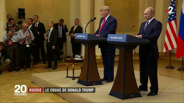 Russie : le couac de Donald Trump