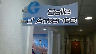 Salle d'attente d'un cabinet de médecin à Caen. (PHILIPPE THOMAS / RADIOFRANCE)