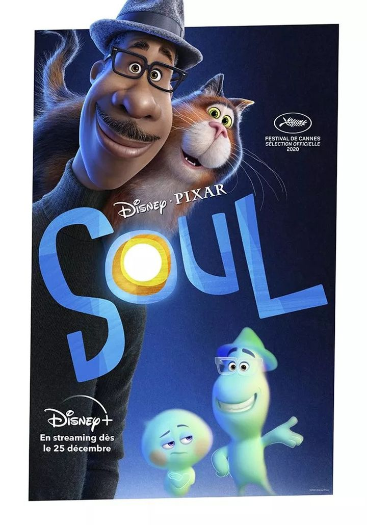 "L'affiche de ""Soul"" de Pete Docter et Kemp Powers. (Copyright The Walt Disney Company France)"