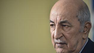 Abdelmadjib Tebboune, élu dès le premier tour Président de l'Algérie lors des élections du 12 décembre 2019. (RYAD KRAMDI / AFP)