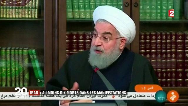 Iran : au moins dix morts dans les manifestations