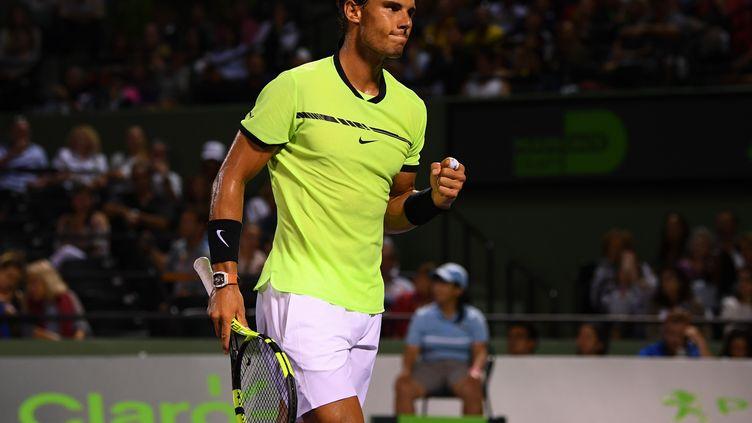 Rafael Nadal a impressionné face à Jack Sock (ROB FOLDY / GETTY IMAGES NORTH AMERICA)
