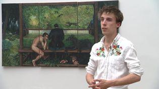 Adrian Geller en résidence à la villa Noailles (Var) (R. Fiorucci / France Télévisions)