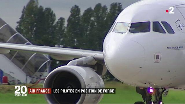 Air France : les pilotes en position de force