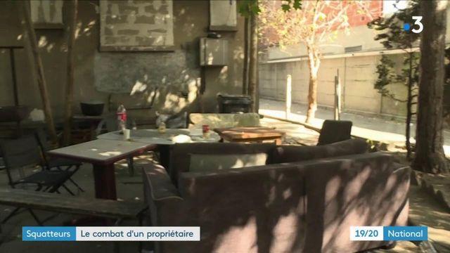 Île-de-France : un promoteur en guerre contre des squatteurs