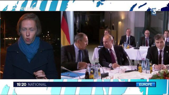 François Hollande et Angela Merkel entament les négociations avec Vladimir Poutine pour un cessez-le-feu en Syrie
