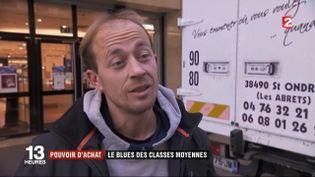 Pouvoir d'achat : le grand blues des classes moyennes (FRANCE 2)