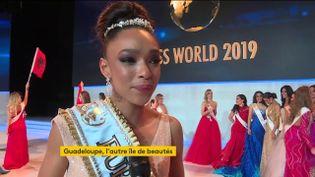 Ophély Mézino, 2e au concours Miss Monde en 2019 (FRANCEINFO)