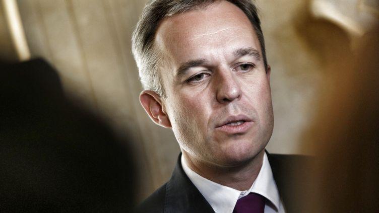 Le député François de Rugy à l'Assemblée nationale, le 24 septembre 2014. (DENIS ALLARD / REA)
