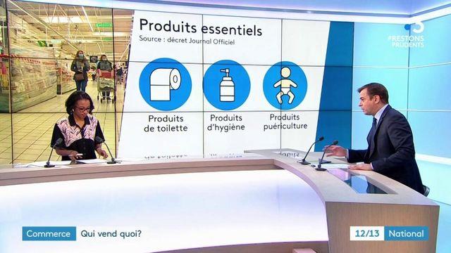 Confinement : quels produits ne peut-on plus acheter en grande surface ?
