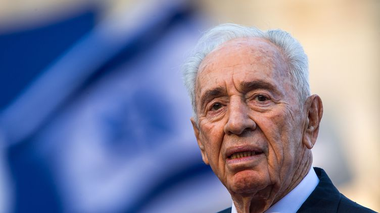 Shimon Peres l'ancien président d'Israël (JENS BUTTNER / DPA-ZENTRALBILD)