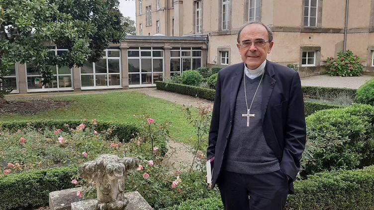 Mgr Philippe Barbarin, en septembre 2020. (SÉBASTIEN BAER / FRANCEINFO / RADIO FRANCE)