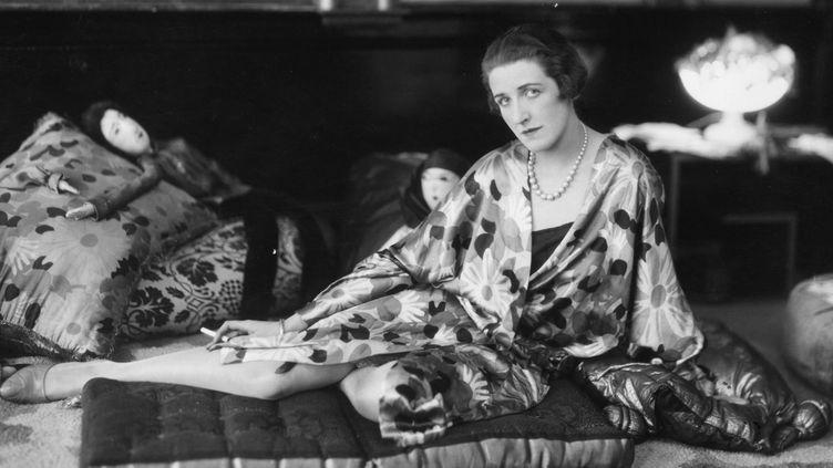 Modèle portant du Paul Poiret en 1925  (Getty Images)