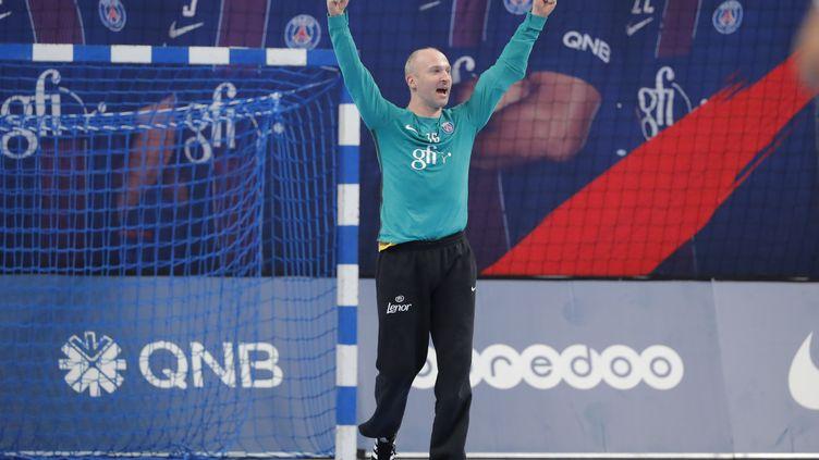 Thierry Omeyer a été très solide des les buts du PSG (STEPHANE ALLAMAN / STEPHANE ALLAMAN)