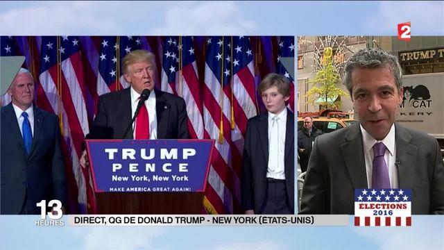 Donald Trump élu : quel programme pour le 45e président des États-Unis ces prochaines heures ?