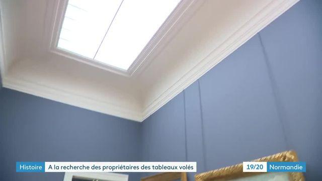 Tableaux spoliés Musée des Beaux-arts de Rouen