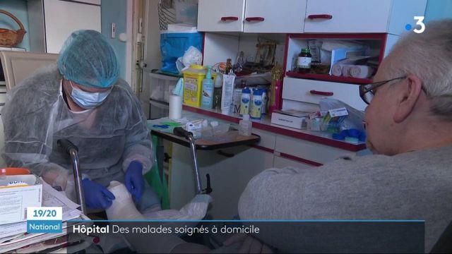 Santé : l'hospitalisation à domicile permet de libérer des lits dans les hôpitaux