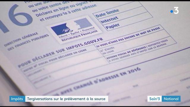 Impôts : tergiversations sur le prélèvement à la source