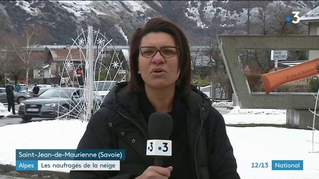 Savoie : 600 personnes bloquées par la neige