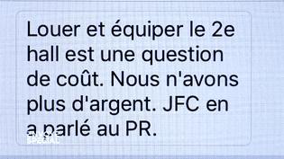 Affaire Bygmalion : un sms troublant (FRANCETV INFO)