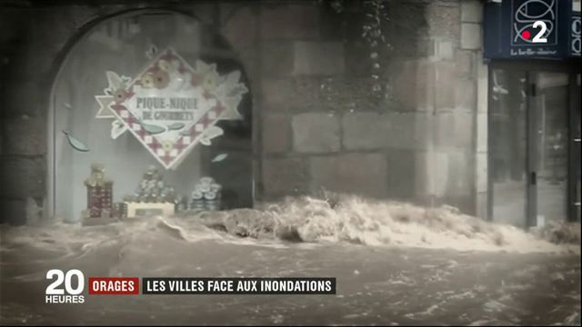 Orages : les villes face aux inondations