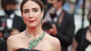 L'actrice Elsa Zylberstein lors du Festival de Cannes le 16 juillet 2021 (FRED DUGIT / MAXPPP)