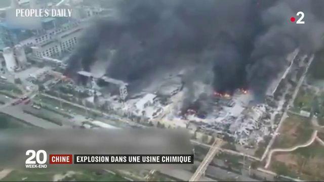 Chine : une violente explosion dans une usine fait plusieurs morts