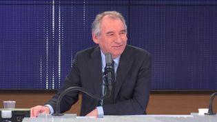 François Bayrou, Haut-commissaire au Plan, invité de franceinfo jeudi 25 février 2021. (FRANCEINFO / RADIO FRANCE)