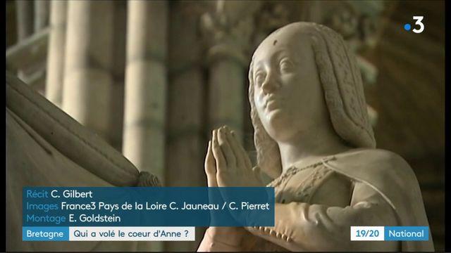 Bretagne : le coeur d'Anne a été volé