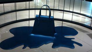 """Exposition """"Pop the bag"""" au Printemps du Louvre, à Paris  (Corinne Jeammet)"""