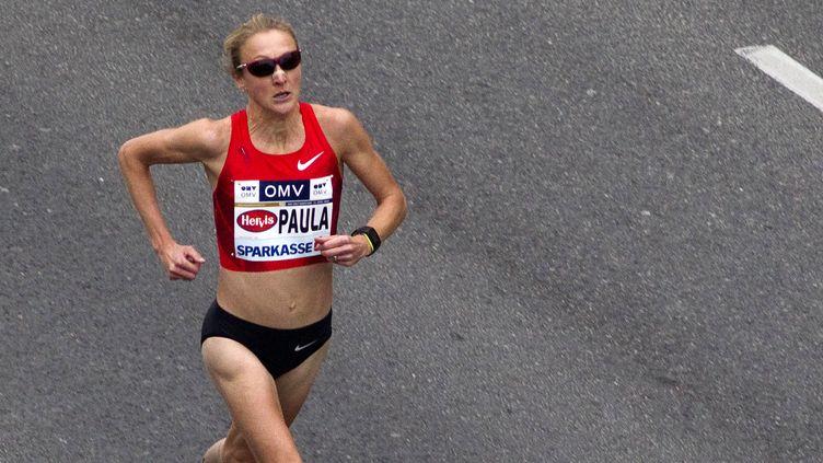 Paula Radcliffe est toujours détentrice du record du monde du marathon  (DIETER NAGL / AFP)