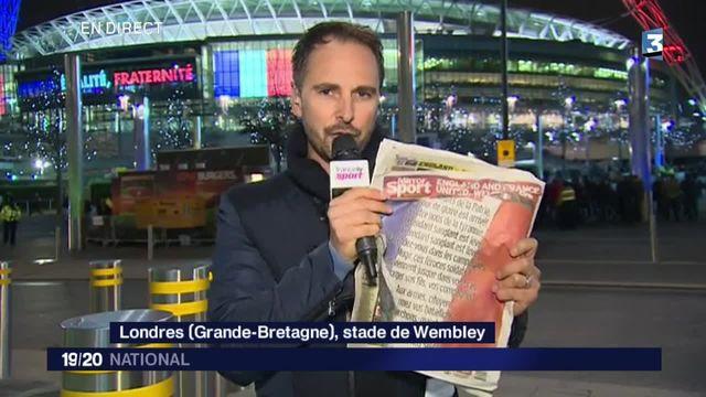 Attentats de Paris : la Marseillaise chantée à Wembley en hommage aux victimes
