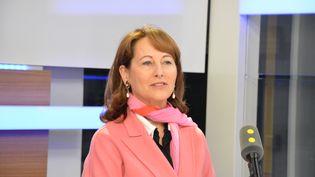 Ségolène Royal,ministre de l'Environnement, de l'Energie et de la Mer. (RADIO FRANCE / JEAN-CHRISTOPHE BOURDILLAT)
