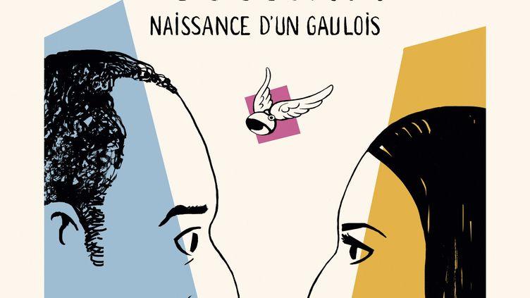 """Couverture de """"Le roman des Goscinny, naissance d'un Gaulois"""", Catel (Catel / Grasset)"""