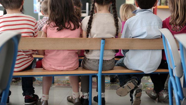 Des enfants à l'école maternelle, à Lyon en 2013 (illustration). (JOEL PHILIPPON / MAXPPP)